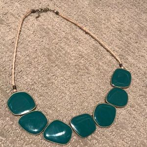 Lia Sophia Jewelry - Beautiful green Lia Sophia statement necklace